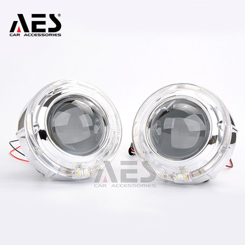led projector universal lens diy hd 1080p projector short focus glass lens f 180 mm for lcd screen 3 2 inch 3 5 inch 4 6 inch Best Selling LED Shroud AES 12V 2PCS LED Integrated Angel Eyes Shroud For 3 Inch Projector Lens WST Kioto LED Q5 King Kong Q5