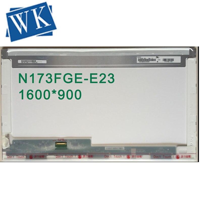 Free shipping N173FGE-E23 Rev B2 LP173WD1 TPA1 B173RTN01.1 LP173WD1 TPE1 17.3LED EDP 30PIN LED LCD PANEL LAPTOP SCREEN