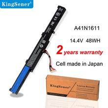 KingSener 14.4V 48WH A41N1611 Batteria Del Computer Portatile Per ASUS ROG GL553 GL553VD GL553VE GL553VW Serie A41LK5H A41LP4Q