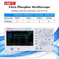 UNI T UPO2000CS series Ultra Phosphor Oscilloscope Automobile Diagnosis and Electronic Maintenance 70MHz/100MHzbandwidth
