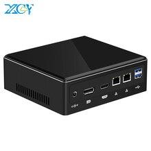 Mini PC Intel Core i5 8250U i7 8550U i3 7020U Windows 10 Linux DDR4 M.2 SSD 8*USB HDMI DP Type-C Wi-Fi 4K 60HZ HTPC Computer