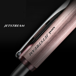 Image 4 - Japonya Mitsubishi Uni Jetstream tükenmez kalem 0.7mm alfa jel kavrama serisi Metal gövde anti yorgunluk yazma malzemeleri SXN 1000
