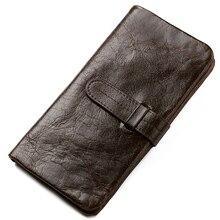 20 pieces Genuine Leather Wallet Men Soft Skin Coin Pocket L