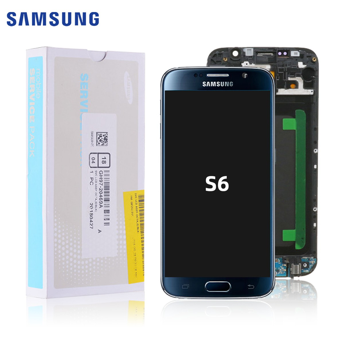 AMOLED Module Replacement For Samsung Galaxy S6 Lcd Replacement Original For Samsung Galaxy S6 Display Digitizer LCD Screen Dig