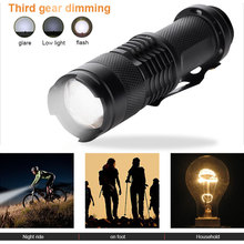 XML T6 LED Flashlight Outdoor Sporting Camping Durable Torch Climbing Black SuperBright Hiking Zoom Flashlight Portable Cycling sitemap 19 xml