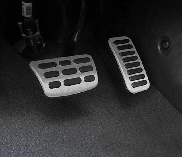 Pédale de carburant daccélérateur de frein pour Hyundai Elantra 2017-2018 gazole à la plaque accessoires de couverture aucun Style de forage