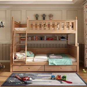 Hot sale full solid wood bed children bunk bed modern design new style kids bed