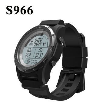 GPS SmartWatch S966 Heart Rate monitor Men Outdoor Multi-sport Smartwatch Fitness Tracker Altitude Thermometer Barometer Altitud фото