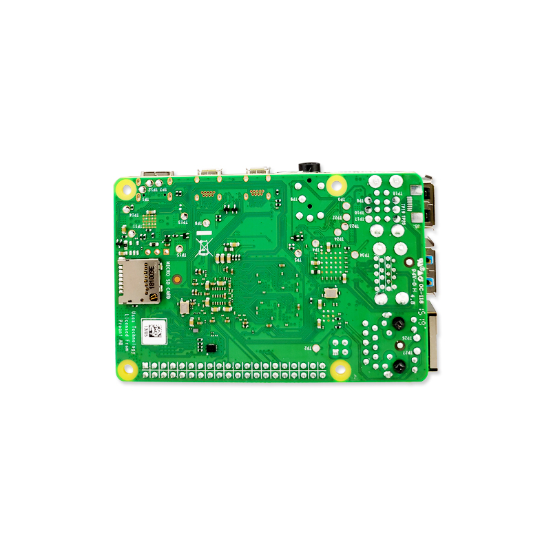 2019 nouvelle framboise officielle d'origine Pi 4 modèle B RAM 1G 2G 4G 4 Core 1.5Ghz 4K Micro HDMI Pi4B 3 vitesses que Raspberry berr Pi 3B + - 4