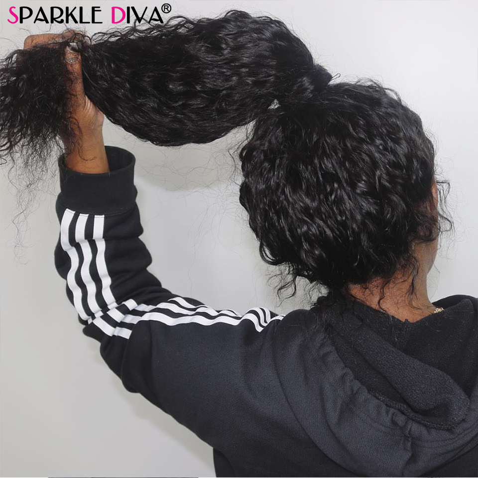 Brazilian Deep Wave Human Hair Wigs 360 Lace Frontal Wigs Pre Plucked With Baby Hair 150 Density Remy Human Hair Wigs For Women