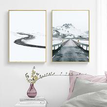 Фон для фотосъемки с изображением снежной сцены зима белый серый