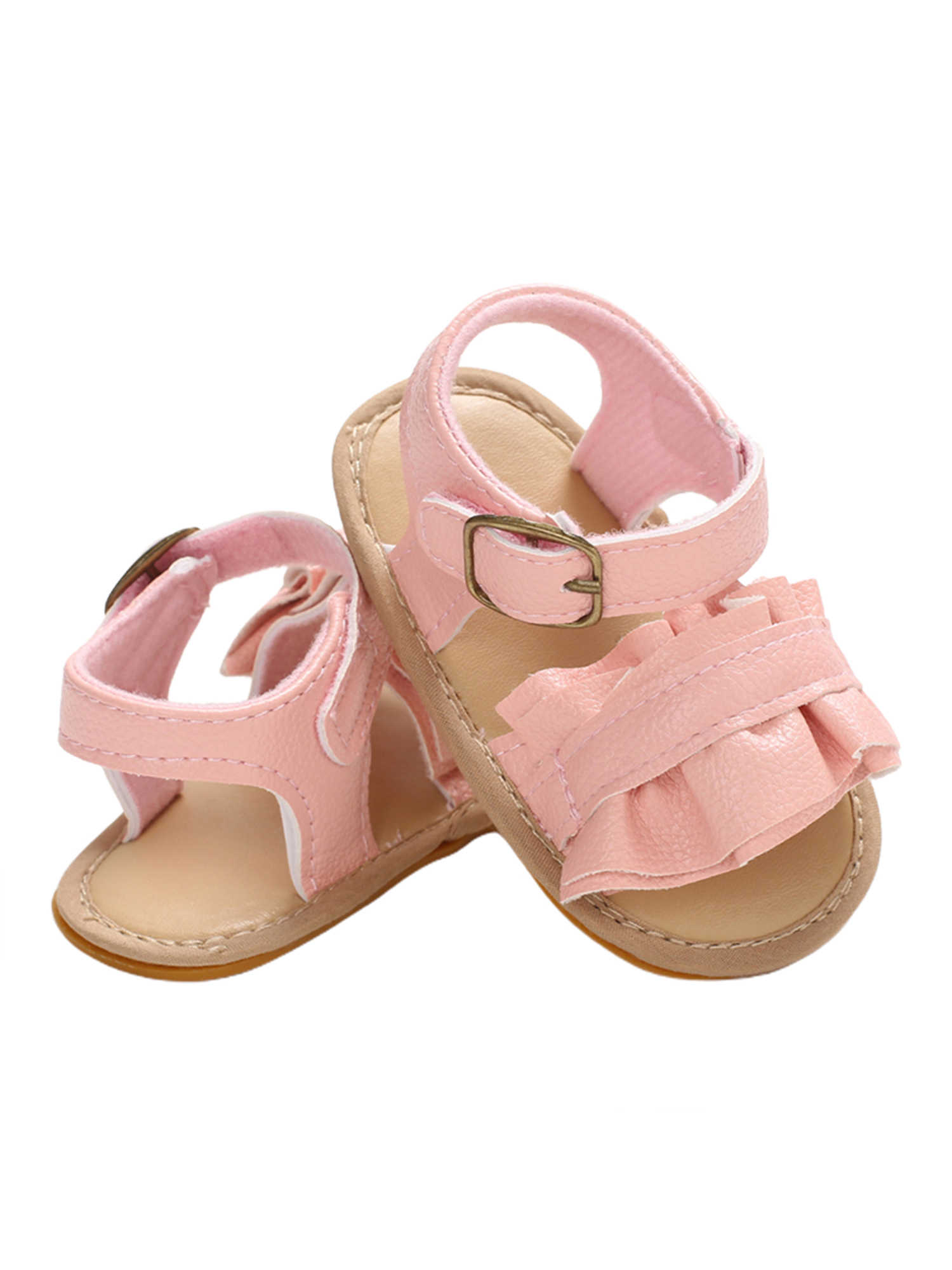 Zomer Pasgeboren Peuter Baby Meisjes Zoete Ademende Sandalen Soft Sole Antislip Schoenen Prewalker