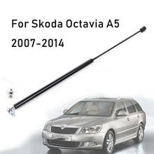 Front Hood Motor Abdeckung Hydraulische Unterstützung Rod Strut Frühling Schock Bar Für Skoda Octavia A5 2007 2014 Auto styling Refit
