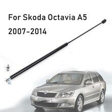 Przednia maska pokrywa silnika hydrauliczne obsługuje Rod Strut wiosna wstrząsy Bar dla Skoda Octavia A5 2007 2014 samochodów stylizacji remont