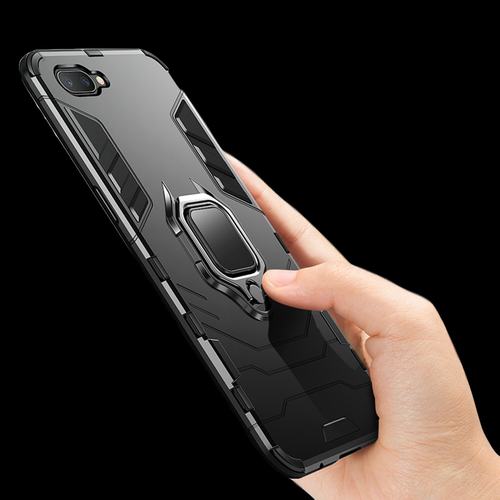 Чехол для OPPO RX17 Neo, силиконовый пластиковый гибридный защитный чехол с подставкой для OPPO RX17 Neo CPH1893 R15X