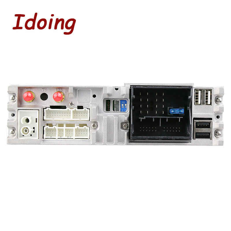 Idoing 1Din Volante per Bmw E90 Auto Lettore Dvd 1024 * 600HD Screen Multimedia Video Android7.1 Gps di Navigazione PC per Auto stereo