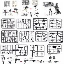 Guns-Blocks Weapon Piece-Sets Army-Toys Military-Pan Locking-Arms Chicken Winner 1pcs