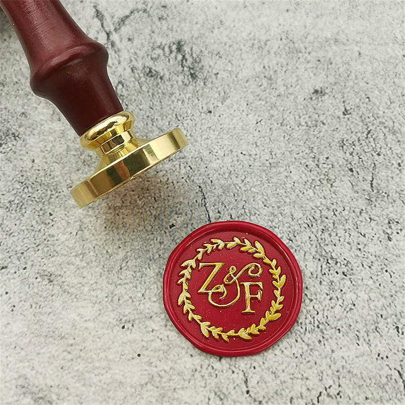 Bee with name wax seal stamp personalized wedding sealing wax kit-custom seal stamp-invitation seals wax stamp kit