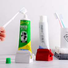 Creative Toothpaste Holder Bathroom Accessories Set Rolling Toothpaste Squeezer Tube Toothpaste Tooth Paste Squeezer Dispenser недорого