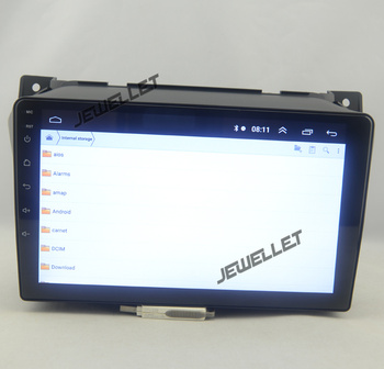 9 octa-core 1280*720 QLED screen Android 10 Car GPS radio Navigation for Nissan Pixo, Suzuki Alto Celerio 2009-2013 image