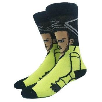 Cartoon Rabbit Sock Casual Hip Hop Creative Soft Comfortable Funny Novelty Skateboard socks Men Calcetines Hombre Divertido 18