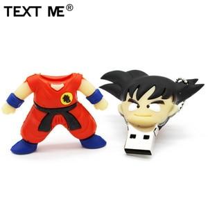 Image 5 - Sms ME cartoon Dragon Ball goku model pamięć usb 2.0 4GB 8GB 16GB 32GB 64GB pen drive