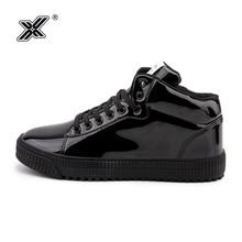 X Brand Retro Outdoor Fashion High Flats Shoes Casual Men Sh