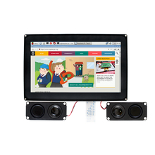 Waveshare Raspberry Pi 10.1inch HDMI LCD (H) 1024x600 Capacitive Touch
