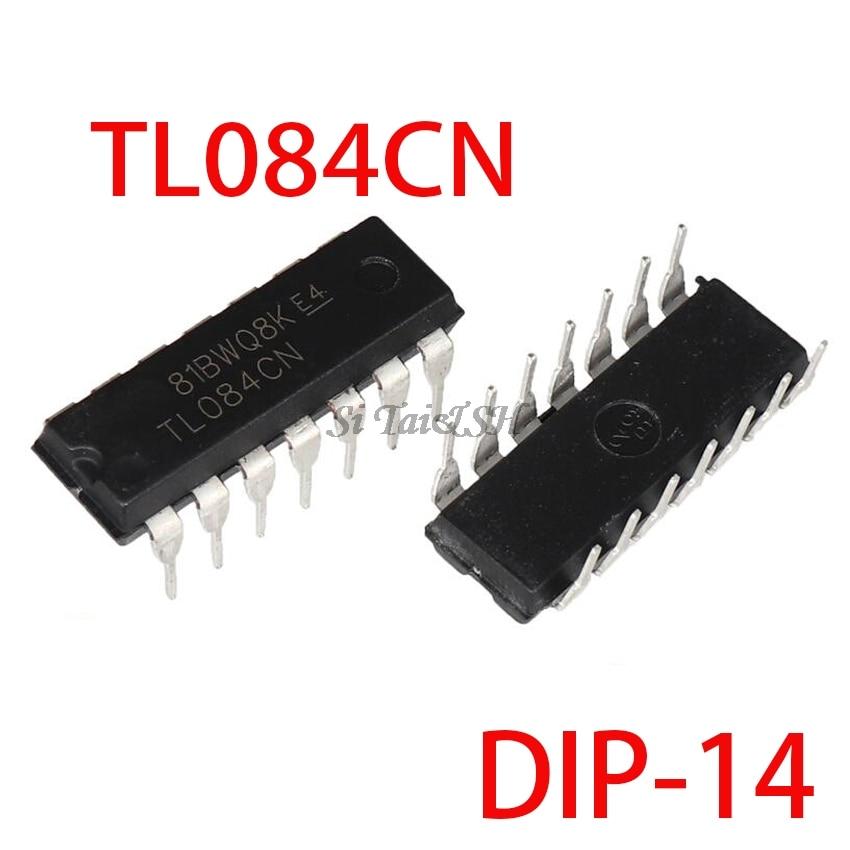 10PCS TL084CN DIP-14 TL084 DIP 084CN DIP New And Original IC