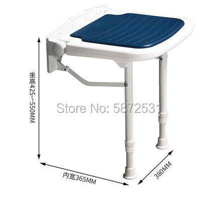 Купить подвесной настенный складной стул для душевой комнаты ванной