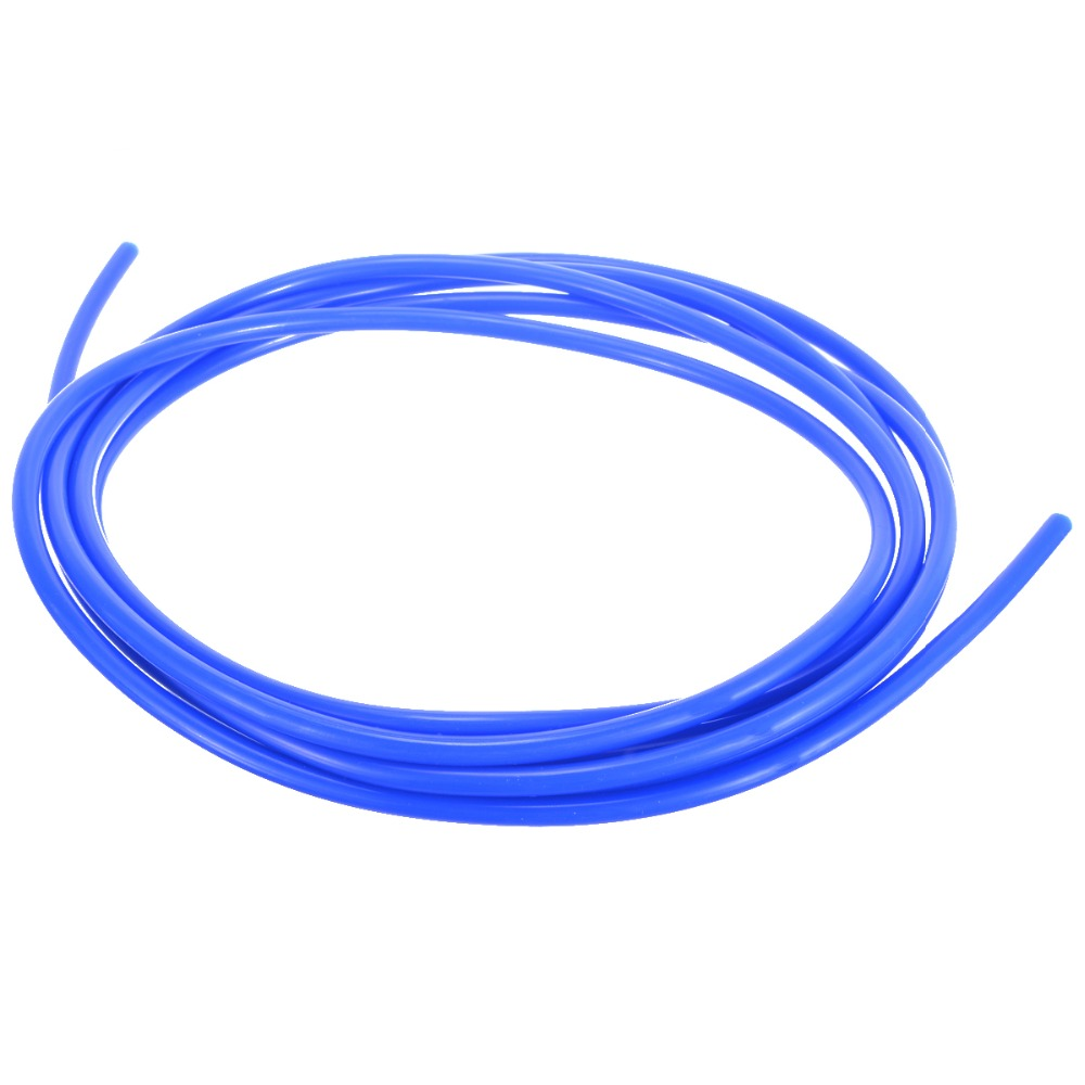1 Roll 5M ID 4mm Blue Car Silicone Vacuum Hose Tube Pipe Silicon Tubing Car Vacuum Silicone Hose Racing Line Pipe Tube image
