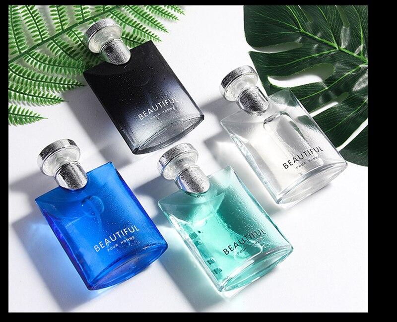 LANBENA 100ML Perfume For Men Long Lasting Fragrance Woody Notes Spray Glass Bottle Male Parfum Original Gentleman Atomizer 5