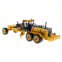1/50 Scale Diecast Masters (#85264) Caterpillars 24M Motor Grader Truck Vehicle CAT Engineering Model Car Gift Toys