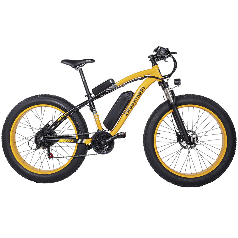 26 Inch Sand Bike  21 Speed Electric Bike  48V 17Ah Large Capacity Battery  1000W Top Brand Motor   Suspension Fork Snow Bike Electric Bicycle     - title=