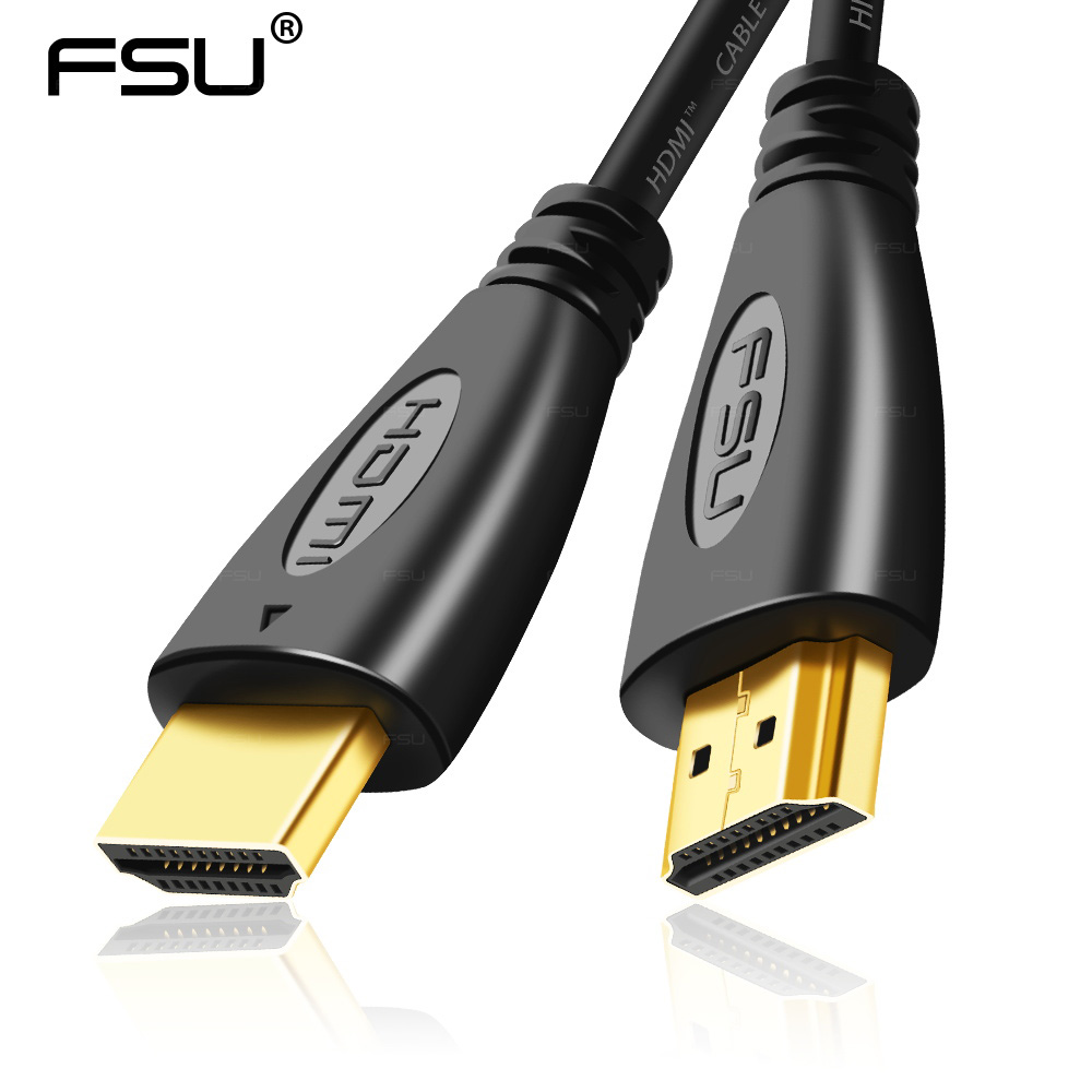 1.4V HDMI Cable Video Cables Gold Plated Plug 1080p 3D High Speed  Resolution For Splitter Switch Box HDTV PS4 Cord Cable HDMI