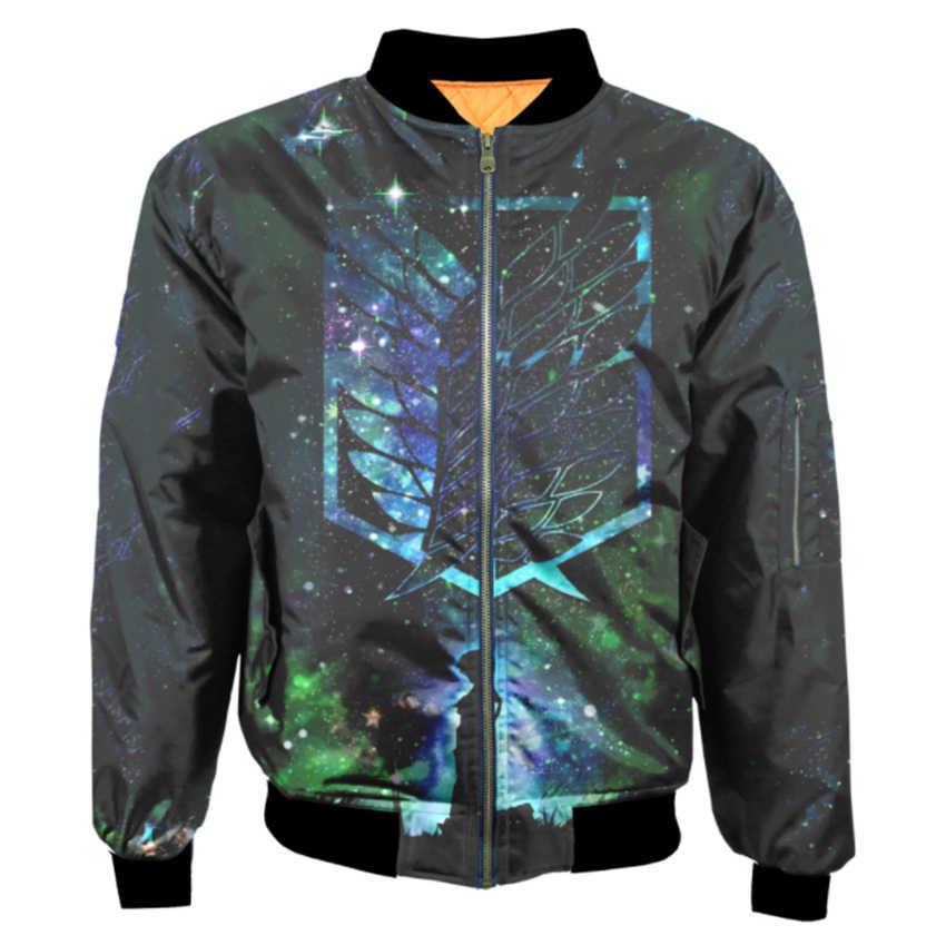 2019 inverno não deformar beisebol varity 3d impressão jaqueta bomber personalizado