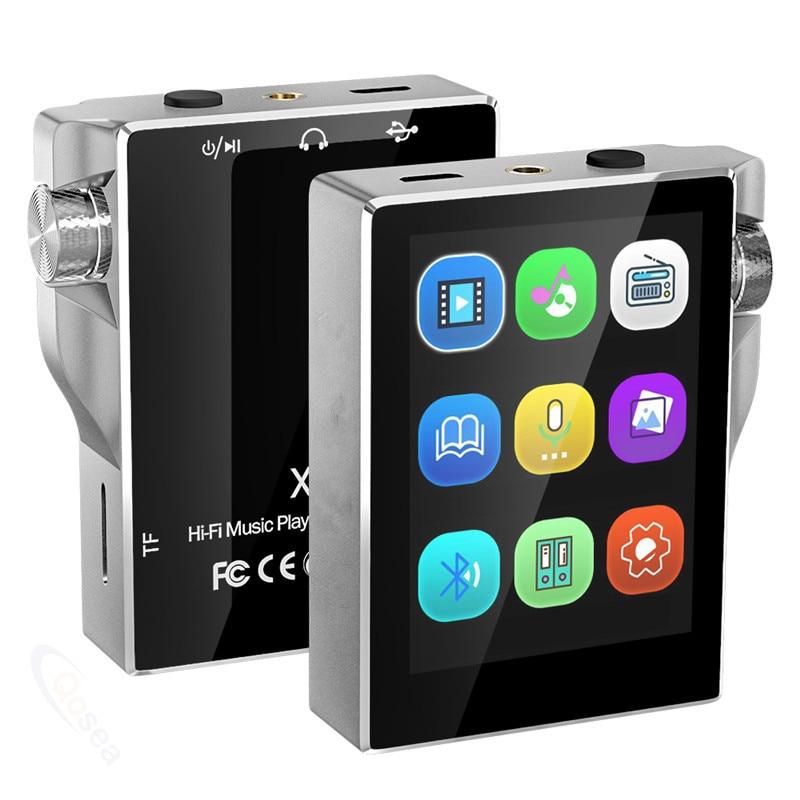 Lecteur MP3 HiFi avec écran tactile Bluetooth Radio FM lecteur de musique Portable haute résolution sans perte Audio numérique E-Book