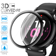Full Coverage Screen Protector For Huawei Watch GT 2 42mm 46mm 3D Curved Soft Protective Film Smart Watch Accessories Not Glass