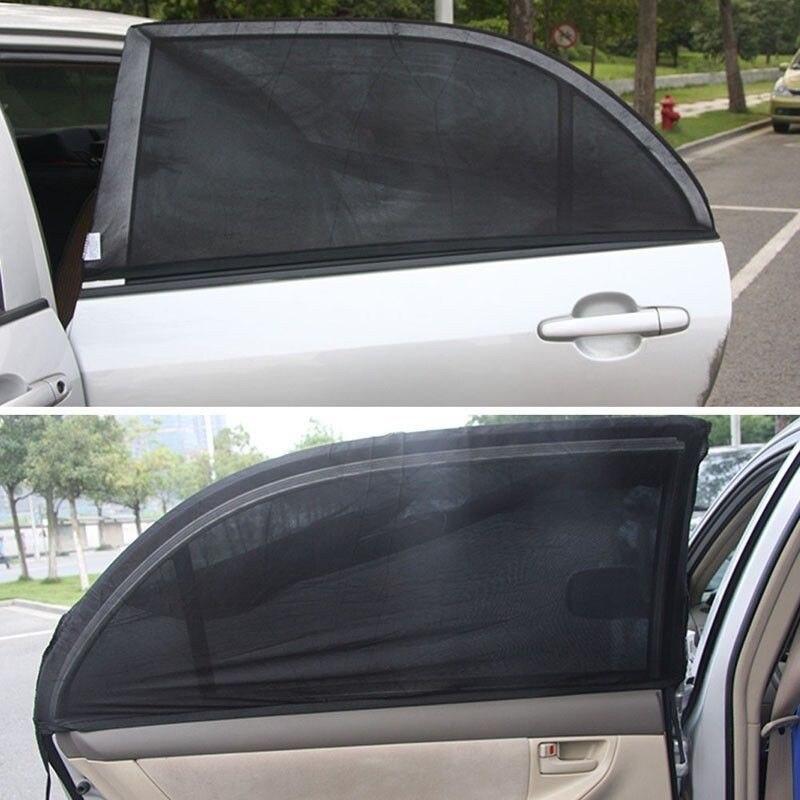 2x Genuine Disney Sun Shades for Car Side Rear Window Anti UV Blinds for Kids SW