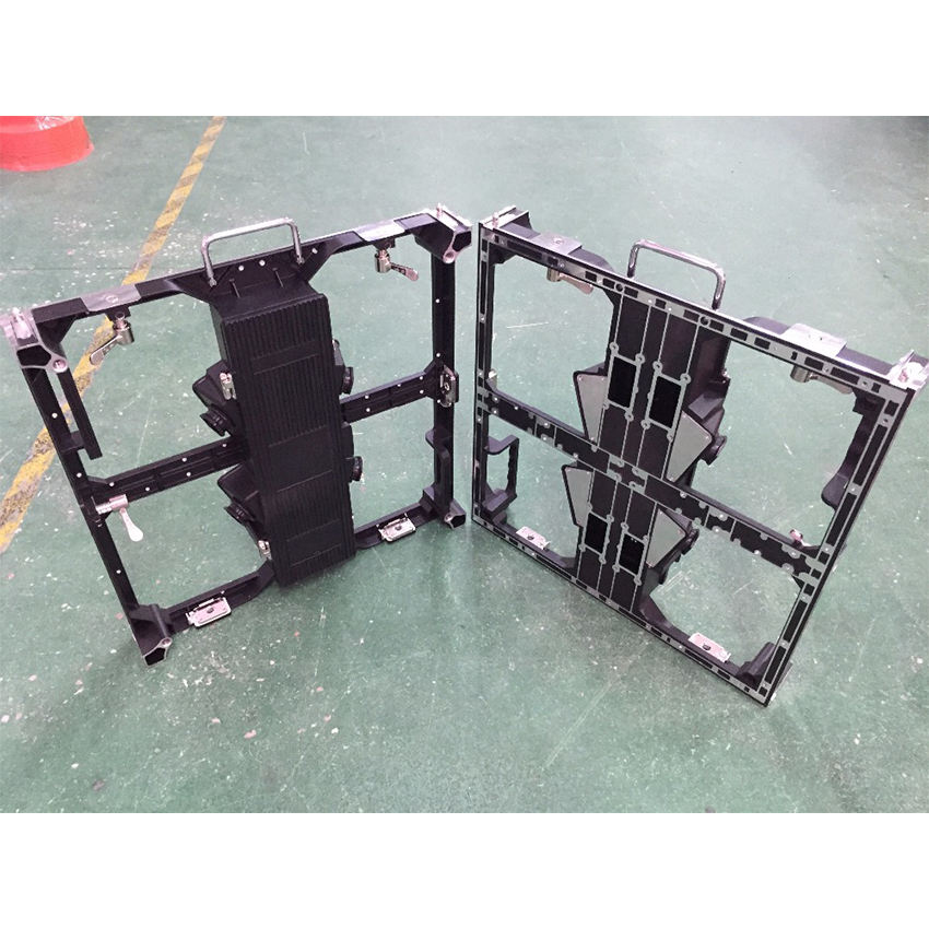 P3.91 And P4.81 Die Casting Aluminum Empty Cabinet, 500x500mm Led Display Panel, 250x250mm Module, Indoor Outdoor Led Video Wall