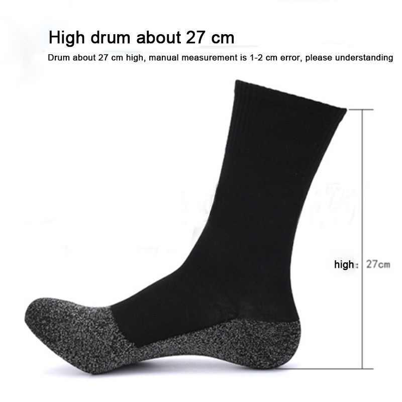 1 Pairs 35 Graden Winter Thermische Sokken Gealuminiseerd Vezels Dikker Super Zachte Comfort Sokken Voet Warm Thermosocks