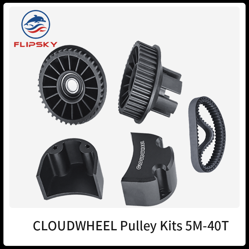 Wheel <font><b>Pulley</b></font> Kits 5M-40T For CLOUDWHEEL Discovery Version | DIY Electric Skateboard Wheels Flipsky image