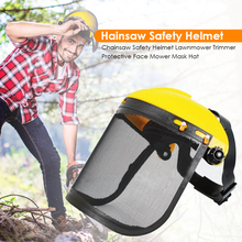 Helmet Chainsaw Forestry Trimmer Garden-Tool Mower-Mask Protective-Hat Face Safety