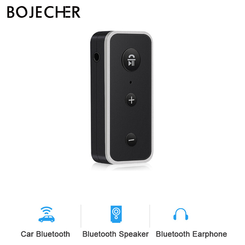Wireless <font><b>Bluetooth</b></font> <font><b>Car</b></font> Kit <font><b>5.0</b></font> <font><b>Receiver</b></font> Stereo Music 3.5mm AUX Audio Handsfree Adapter For Headphone Speaker with Mic Z2 image