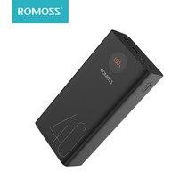 ROMOSS Zeus batterie externe 40000mAh 18W PD QC 3.0 Charge rapide 40000mAh Powerbank type-c chargeur de batterie externe pour iPhone Huawei