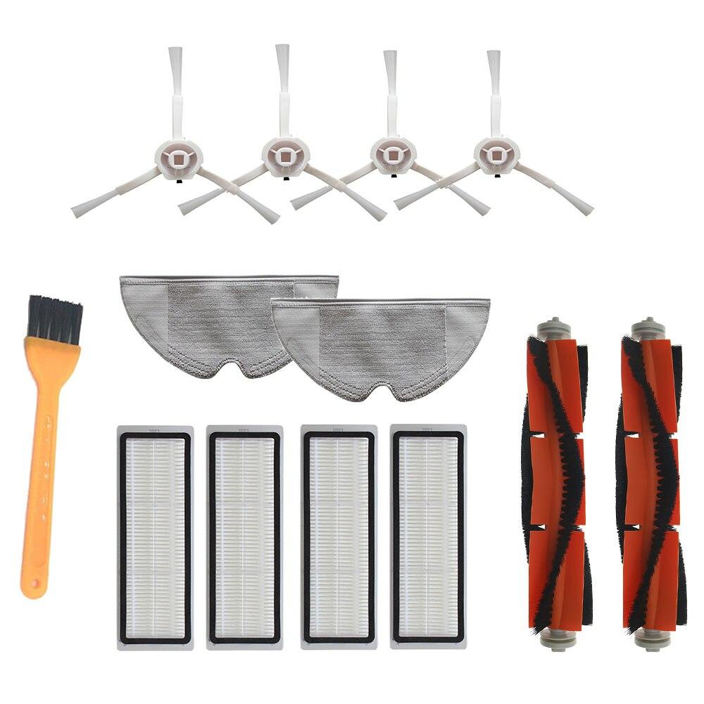 HEPA Filter Main Brush Side Brushfor Xiaomi Mijia 1C STYTJ01ZHM Dreame F9 Robot Vacuum cleaner Mop Cloth Cleaning Tool