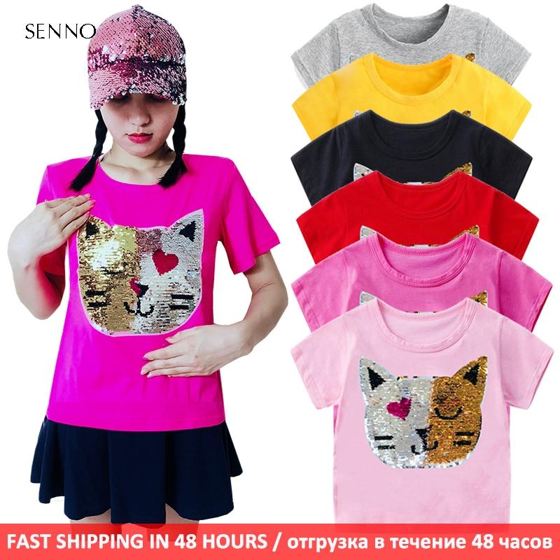 Girls Tee Shirt Size 10-12 Black New Glitter Kids