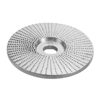Wood Tungsten Carbide Grinding Wheel Sanding Carving Tool Abrasive Disc for Angle Grinder PI669