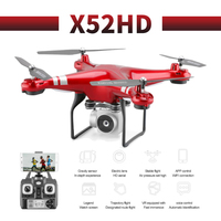 X52HD profissional 2019 newest camera drone WiFi FPV Brush motor propeller air RC gimbal Quadcopter Helicopte
