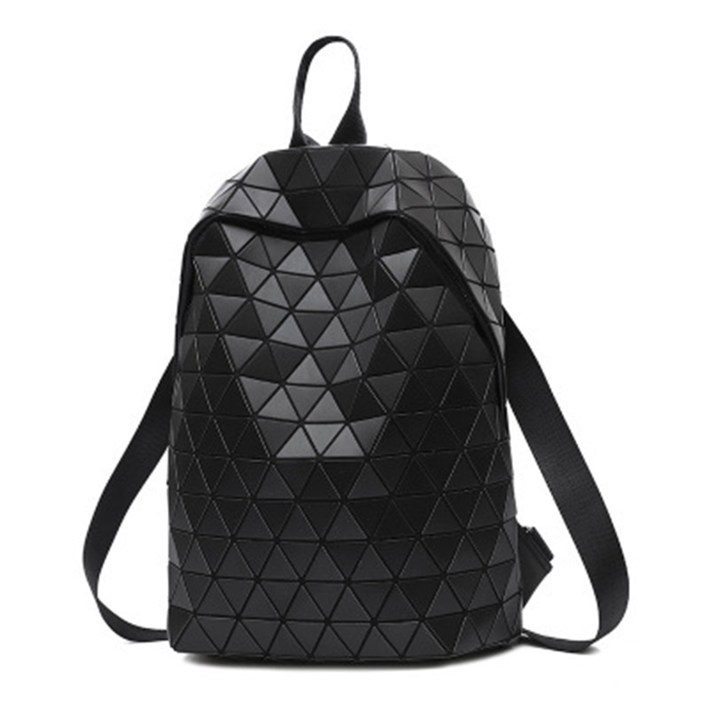 Luminous Backpacks Women Geometric Laptop Backpack For Men Shoulder Backpack School Holographic Rucksack Female Trave School Bag